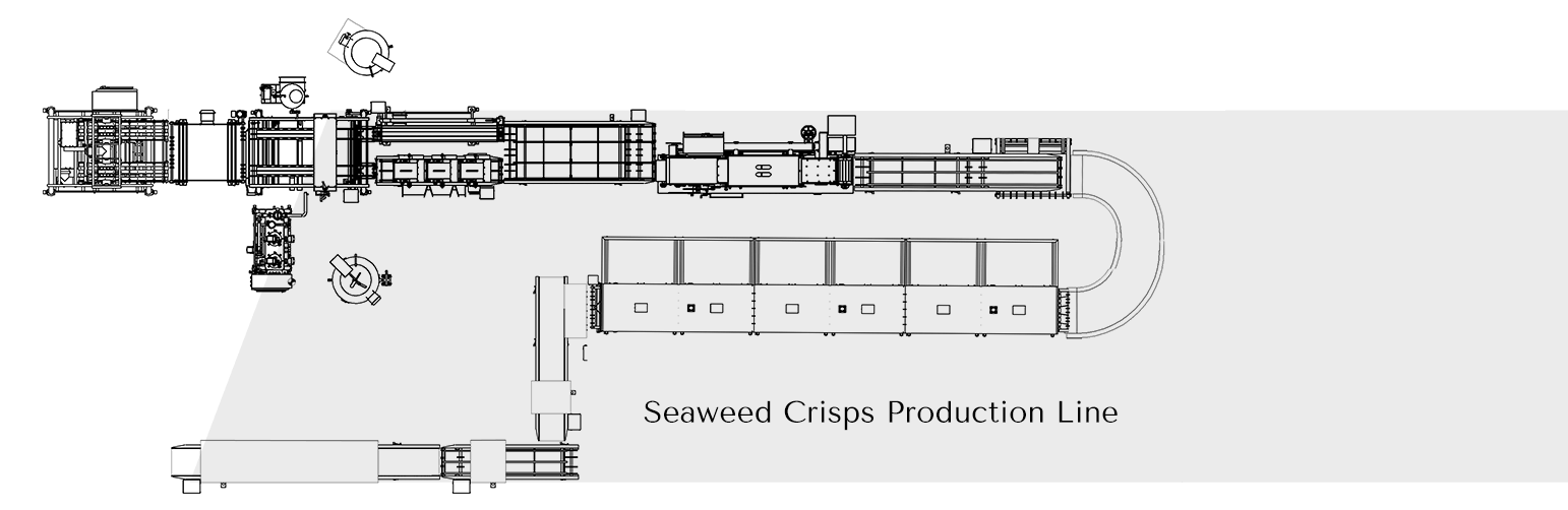 Seaweed Crisps Production Line