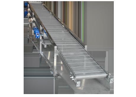 Multi-Layer Food Cooling Conveyor